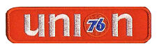 Patch embroidered badge Patch 76 UNION racing gasoline fusible