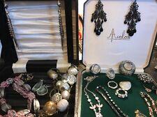 Vintage Job Lot Of Jewellery  Necklaces Bracelets Earrings Etc