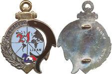 21° Régiment d'Infanterie de Marine,LIBAN,U.N.I.F.I.L.80 gravé Drago Paris(3930)