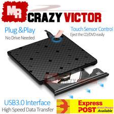 USB 3.0 External Portable DVD-RW CD-RW Combo Drive Burner Writer Reader Player