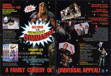 SUBURBAN COMMANDO__Original 1992 Trade print AD promo__HULK HOGAN_Shelley Duvall