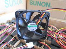 Sunon ME60151V2-000U-G99, 60mmx15mm-3pin Tach Sensor, Hi-speed 4700RPM, 21.9CFM