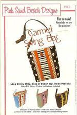 PINK Sand Beach Designs-Carmine Swing Bag modello