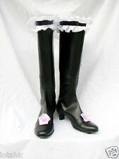 Rozen Maiden Suigintou Cosplay Shoe BOOT Custom Made