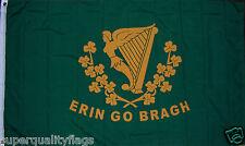 New listing New 3x5 ft Erin Go Bragh St Patricks Day Ireland Irish Flag