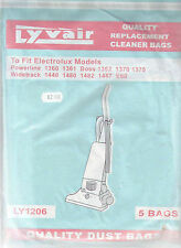 Electrolux 5 Pack Vacuum Cleaner bags - Lyvair LY1206 - NEW