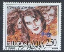Yugoslavia 1998 Mi 2853 ** Women's Day Blumen Flowers