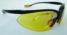 KONTROL SPORTS GelShock Yellow Prescription Sunglasses