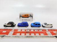 CG538-0,5# 5x Herpa H0/1:87 PKW: Fiat IAA `93 + Renault Twingo/R4 + Citroen, s.g
