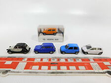Cg538-0, 5# 5x Herpa h0/1:87 automóviles: Fiat de Aja ' 93 + Renault Twingo/r4 + citroen, S.G