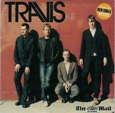 Travis - The Mail on Sunday PROMO CD FRAN HEALY BRIT POP