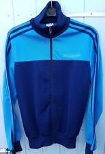 Vintage Adidas Tracksuit Track Top Jacket Blue D3 F168