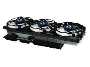 RARE! Arctic Accelero Xtreme IV GPU Cooler +Backplate Graphics Card Fan Heatsink