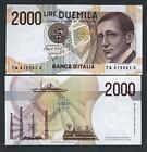 ITALY 2000 Lire 1990 Marconi FDS Lettera A