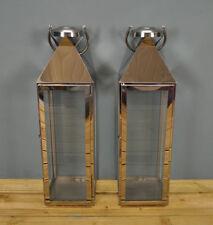 Pillar Metal Lanterns Light Holders