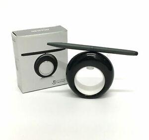 Newton Clock Pen Stylus Office Desk Gadget Executive Accessory Black Fun Toy D