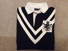 Polo Ralph Lauren Black Rugby Shirt - Size Medium RRP £110