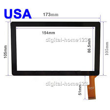 Touch Screen Digitizer For 7 inch Tablet Allwinner A10 A13 A23 7013 Android MID
