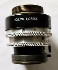 VINTAGE TAYLOR HOBSON CAMERA LENS COOKE KINIC F1.8 MADE IN ENGLAND