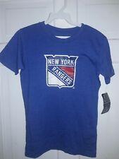 New York Rangers Hockey T-Shirt jersey Nhl Ny athletic fan gear New - Youth M