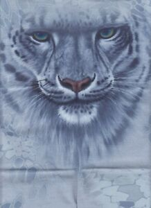 Snow Leopard FACE MASK Balaclava Sport Tube Scarf Neck Gaiter Buff USA seller