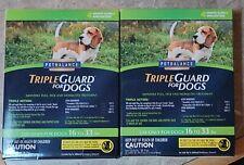 TripleGuard Flea and Tick Treatment for Medium 16-33lbs Sized Dog New in box *9