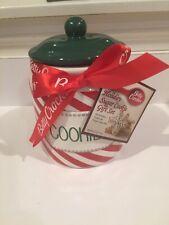 BRAND NEW CHRISTMAS STRIPECOOKIE JAR