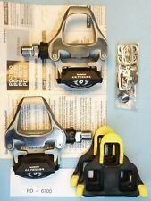 Shimano Ultegra  SPD SL mod. 6700 bicycle pedals - NOS