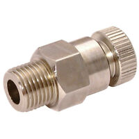 """Air-Pro/Hy-Fitt Pressione Misuratori - 3/8 """" Spurgo Valvola 1-02530"""
