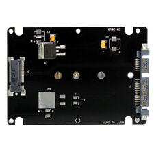 M.2 NGFF (SATA) SSD to 2.5 SATA Adapter Card With Case Converter Card