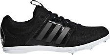 adidas Allroundstar Junior Running Spikes - Black