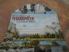 Vintage Lettercard Scenic Gems of Yosemite National Park With 18 Colour Images