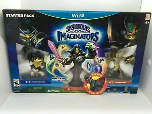 SKYLANDERS IMAGINATORS STARTER PACK WII U Activision Video Game Nintendo NEW