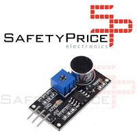 Sensor acustico detector de sonido Chip LM393 Módulo Micrófono para Arduino