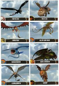2014 Topps How to Train Your Dragon 2 Base Card Insert You Pick Finish Your Set