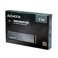 ADATA SWORDFISH PCIe NVMe Gen3x4 M.2 2280 Solid State Drive 500GB/1TB/2TB