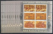 Kosovo - 2014 dipinto 261-63 Adem Kastrati 10 piccoli archi ** - sotto prezzo post