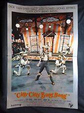 LOCANDINA CINEMA - CITTY CITTY BANG BANG - DICK VAN DYKE - 1968 - FANTASTICO -01
