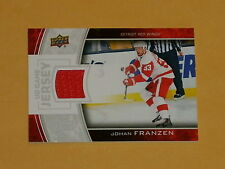 2013-14 UpperDeck Game Jersey Hockey Card # GJ-JF Johan Franzen
