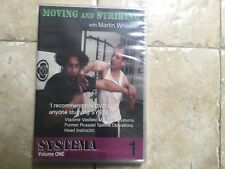 """Russian Martial Art Dvd: """"Moving and Striking"""" with Martin Wheeler"""