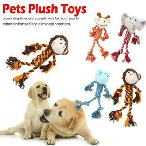 Pet Dog Puppy Squeaky Chew Plush Toys Hippo monkey elephant Giraffe Non-toxic