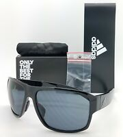 NEW ADIDAS Jaysor Sunglasses ad20/00 6050 00/00 Black Shiny Grey AUTHENTIC 60mm