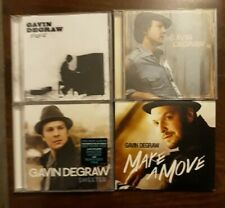 Lotto 4 CD Gavin DeGraw - Gavin DeGraw + Free + Make A Move + Sweeter