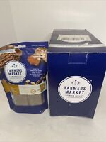 Farmers Natural Chewy Protein Bars Dog Treats, 6 Bags Beef With Peanut Butter