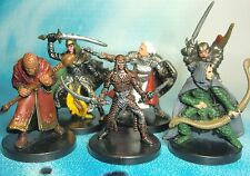 Dungeons & Dragons Miniatures Lot  Player Character Party Seasoned !!  s116