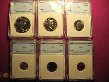 1963 Canada 6 coin set (PL-70)