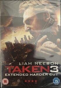 Taken 3 - Extended Harder Cut New Sealed DVD Liam Neeson Forest Whitaker