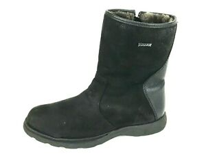 Pajar Mens Black Zipper Side Shearling Lining Ankle Boots Side US.11 Eur.44