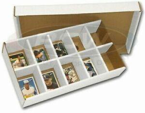 One New BCW Cardboard Baseball Trading Card Sorting Tray 10 slot sort box