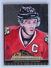 2014-15 Upper Deck Masterpieces Jonathan Toews Portraits Oil Painting (8/10)